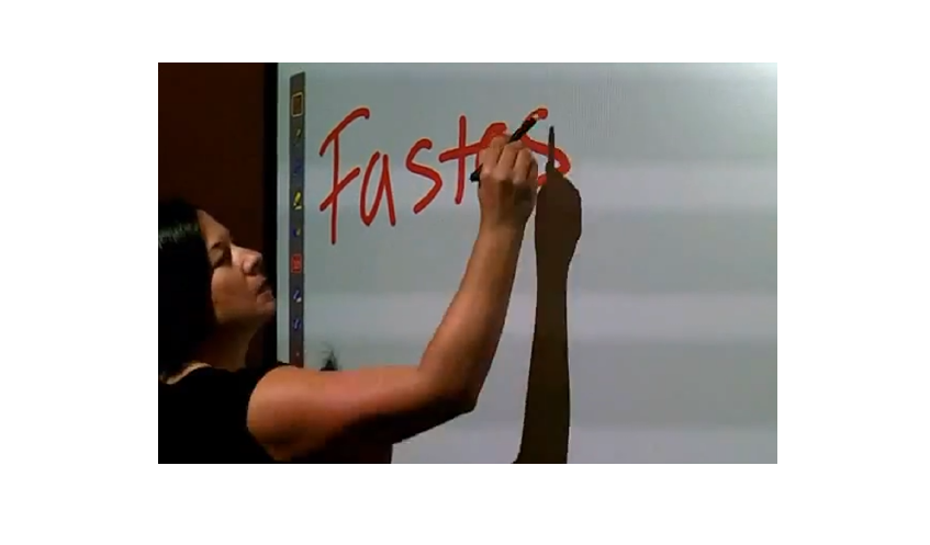 LightPen-Dual interactive features with full graphical features for layering, blank-whiteboard and editing task.